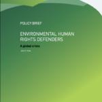 Environmental Human Rights Defenders: a global crisis
