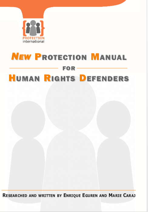 New Protection Manual for Human Rights Defenders