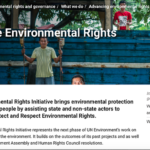 What is the Environmental Rights Initiative?