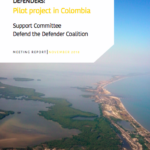 Emergency and Non-Emergency Support for Environmental Defenders: Pilot Project in Colombia