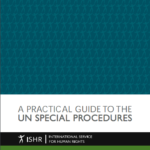 A Practical Guide to the UN Special Procedures