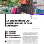 La Situación de las Mujeres Rurales en El Salvador