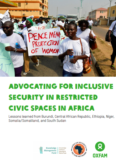 Advocating for Inclusive Security in Restricted Civic Spaces in Africa