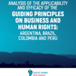 Analysis of the Applicability and Efficacy of the Guiding Principles of Business and Human Rights: Argentina, Brazil, Colombia, Peru