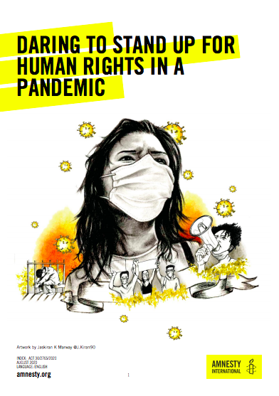 Daring to stand up for human rights in a pandemic