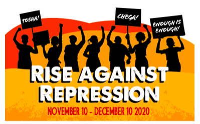 JOIN! A Call to Action – Rise Against Repression (Nov 10 – Dec 10) || Appel a l'Action || Chamada para Acção