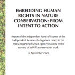 Embedding Human Rights in Nature Conservation: from intention to action