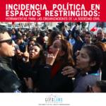 Incidencia Política es Espacios Restringidos: herramientas para las organizaciones de la sociedad civil
