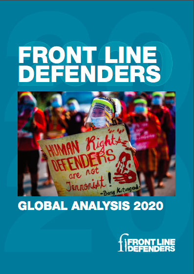 Front Line Defenders Global Analysis 2020