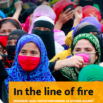 In the line of fire: Increased legal protection needed as attacks against business & human rights defenders mount in 2020