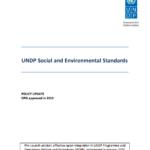Social and Environmental Standards (General)
