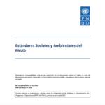 Estándares Sociales y Ambientales del PNUD (General)