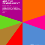 Guidance Note on Human Rights and the Environment for Resident Coordinators